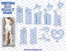 Tremendous Sewing Make Your Own Clothes Ideas. Prodigious Sewing Make Your Own Clothes Ideas. Easy Sewing Patterns, Doll Clothes Patterns, Clothing Patterns, Apron Dress, Diy Dress, Simple Dress Pattern, Pattern Dress, Evening Dress Patterns, Modelista