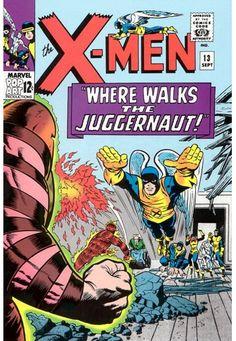 "X-Men #13, ""Where Walks the Juggernaut!"", Art: Jack Kirby"