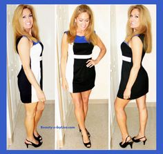 COLOR BLOCK Dress - See More HERE: http://www.beauty101bylisa.com/2014/07/color-block-dress.html  #colorblock  #colorblocking #dress #beauty101bylisa