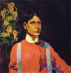 nathan altman   peira: Nathan Altman: Self Portrait (1911) via... - one foot in the ...