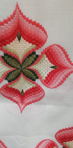 Cross Stitch Material, Cross Stitch Embroidery, Bargello Needlepoint, Blouse Designs, Needlework, Weaving, Pattern, Embroidered Towels, Crochet Doilies