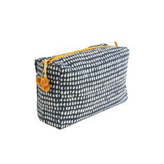 Currently inspired by: Navy Dot Tolietry Bags on Fab.com