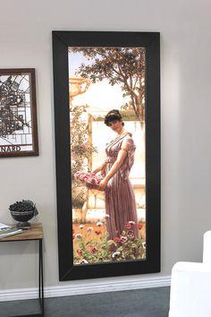 Secret picture frame door leads to a hidden room Hidden Closet, Secret Closet, Hidden Rooms, Mirror Closet Doors, Mirror Door, Door Picture Frame, Gazebo Plans, Safe Room, Timber Frame Homes