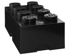Lego Oppbevaring 8 Svart | Barnerommet Oppbevaring | Jollyroom