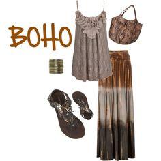 BOHO, created by kayleekkbray on Polyvore