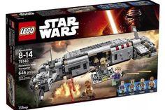 Lego Star Wars Force Awakens Resistance Troop Transporter 75140 w Minifigs | eBay