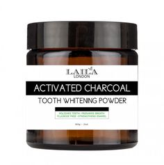 laila london activated charcoal tooth powder