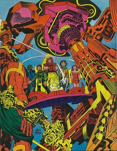 Jack Kirby, Forever people