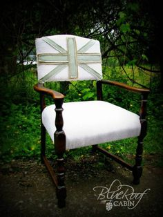 Union Jack-Inspired Chair Makeover by Mimi | Bob Vila Nation