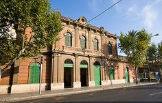 Fachada de la estación del Tren de Soller (Palma de Mallorca) | Flickr - Photo Sharing!