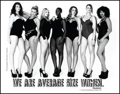 We are average size women!