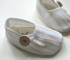 Tutorial and Baby Shoe Pattern Baby Tulip by LenasShoePatterns