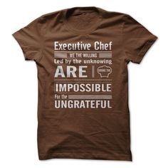 Executive Chef. LIMITED EDITION ! Ending Soon