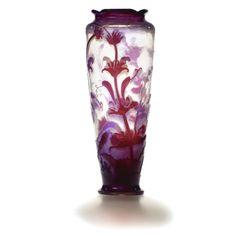 A Large Emile Gallé Cameo Vase, Circa 1900 ||| sotheby's