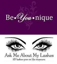 Always ask me about 3D + Fiber mascara www.youniqueproducts.com/marietwardsammons