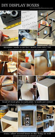 Brooklyn Limestone: DIY Display Boxes Tutorial