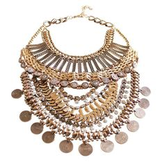 Gold Boho Coin Necklace alistjewelry.com COMING SOON! Follow us on Instagram @a_list_jewelry for updates!