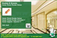 Toronto Distributor | Brushes & Brooms: Duster Wooly Wonder Deluxe