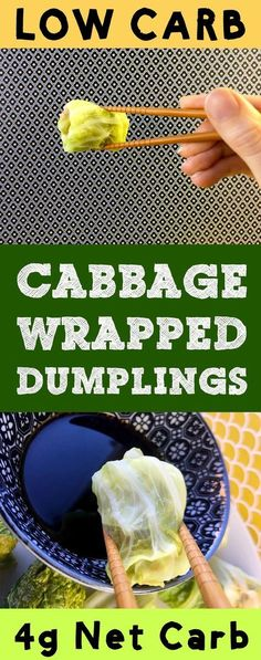 These low carb dim sum dumplings use cabbage for a wrapper, so they've only got 1g net carb per dumpling. They are Atkins, Banting, THM, Whole30, LCHF, Paleo, and Gluten Free. #Lowcarb #lowcarbdiet #keto #ketogenic #LCHF #diet #best #glutenfree #dumplings