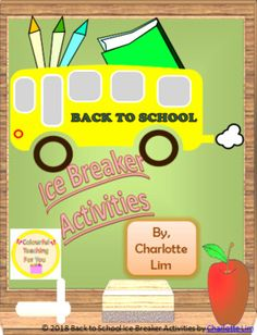 Let's play together and break the ice with these awesome games: https://www.teacherspayteachers.com/Product/Back-to-School-Ice-Breaker-Activities-3927418  #BacktoSchool #activities #icebreaker #Teachers #TeacherLife #homeschooling #education #studentsuccess #SEL #CreativeConfidence #friendship #friends