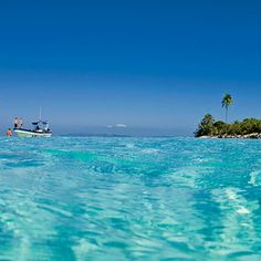 Pigeon Cay, Honduras » 45 minutes from Roatan but a world away. #snorkeling