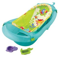 Fisher-Price Bath Tub, Rainforest Friends - Click image twice for more info - See a larger selection of  Baby bath tubs and seats   http://zbabybaby.com/category/baby-categories/baby-bathing-and-skin-care/baby-bathing-tubs-and-seats/ - gift ideas, baby , baby shower gift ideas, kids « zBabyBaby.com