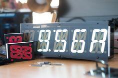 Super large LEDs for clocks, counters, messages, etc.