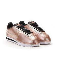 Nike Cortez Copper Sneaker - Part of the #lostinlusso Rose Gold Sneaker Guide