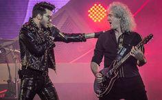 Veja como foi a apresentação do Queen, com Adam Lambert nos vocais, em São Paulo! - Estrelando