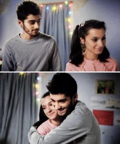 Zayn Malik and his sister Waliyha <3 i feel the love