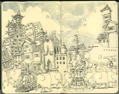 Mattias Adolfsson - just fallen in love with that great illustrator!