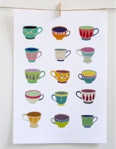 Tea cups by matilda