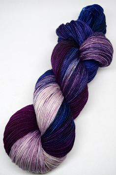 hand dyed yarn, hand painted yarn, handpainted yarn, superwash merino yarn…