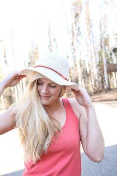 Hat Pattern  Fun Shine Sun Hat от Mamachee на Etsy