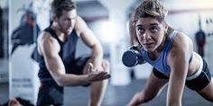 Love the gym so much that you are considering becoming a personal trainer? Or are you looking for a personal trainer to help you meet your fitness goals? Personal Training Studio, Outdoor Fitness Equipment, No Equipment Workout, Personal Fitness, Physical Fitness, Marathon Training, Squat, Yoga, Fitness Inspiration