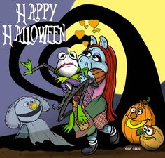 Artist Kenny Durkin reimagines the Muppets starring in the Nightmare Before Christmas
