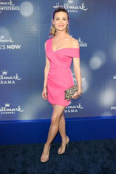 Brooke D'Orsay is seen attending the Hallmark Channel and Hallmark Movies & Mysteries summer 2019 TCA press tour Event at Private Residence in Los Angeles, California. Brooke D'orsay, New Netflix, Press Tour, Lizzie Mcguire, Hallmark Movies, Hallmark Channel, Family Movies, Beautiful Actresses, Cartoon Network
