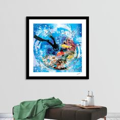 Discover «Under Water Scuba Diving», Limited Edition Fine Art Print by Clifford Miller - From $29 - Curioos