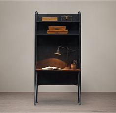 "Modular 2-Shelf Desk System 39¾""W x 16""D x 83¼""H"
