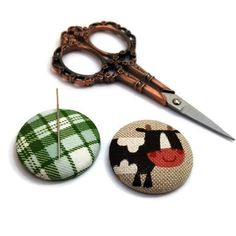 Cow Needle Minder-Reversible Needleminder-Magnetic-Cross Stitch-Embroidery-Sewing-Needlepoint-Animal Needle Minder-Handmade Supply-Farm-Moo Since I am a maker I have lost many a needles in my house only to later have them sticking out of my couch poking me in my butt. It was not Cow Logo, Music Jewelry, Needle Minders, Pretty Designs, Christmas Shopping, Cross Stitch Embroidery, Needlepoint, Best Gifts, Online Gift
