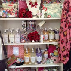 tonic cosmetic bags, shower caps and 200g goat's milk soap spotted in the southern suburbs of Sydney, NSW!