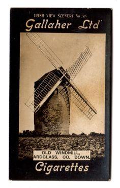 GALLAHER IRISH VIEW SCENERY (LTD IN SCRIPT) No.38 OLD WINDMILL-ARDGLASS-CO. DOWN | eBay
