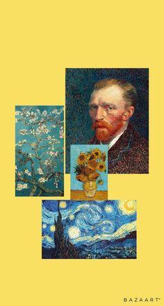You do things… Van Gogh Wallpaper, Locked Wallpaper, Painting Wallpaper, Galaxy Wallpaper, Aesthetic Pastel Wallpaper, Aesthetic Wallpapers, Van Gogh Art, Pretty Wallpapers, Aesthetic Art