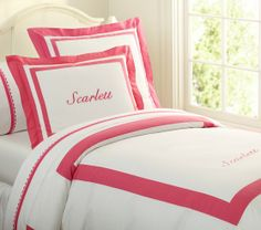 Classic Duvet Cover | Pottery Barn Kids- Twin for Layla