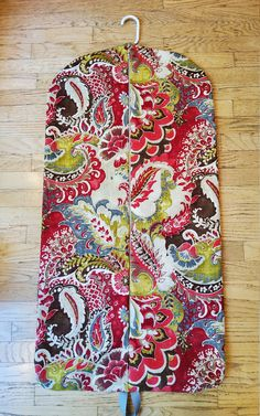 Red Paisley Hanging Garment Bag, Garment Bag, Weekender by CarryItWell on Etsy Rebecca Brown, Etsy Cards, Garment Bags, Map Design, Just Giving, Weekender, Paisley Print, Grosgrain, Fathers Day Gifts