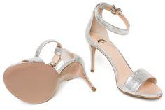 srebrne #sandały #szpilki #Apia kolekcja damskich #butów #wiosna #lato #2016 wyjątkowa kolekcja #butów #Fabi dla marki #Apia