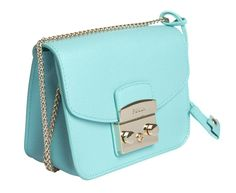 Furla Blue Bag - METROPOLIS MINI CROSSBODY Sping - Summer 2015 at www.themintcompany.com