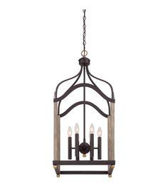 449 Quoizel Bordergate 6 Light Chandelier in Western Bronze BRG5206WT #lightingnewyork #lny #lighting