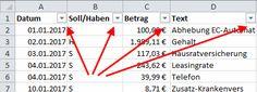 So gehts: Daten filtern mit Excel    Ihre Excel-Tabelle geht über viele Bildschirmseiten, Sie wollen aber nur ganz bestimmte Zeilen darin sehen. Dafür gibt es die Filter, die das Wichtige einer langen Liste präsentieren.