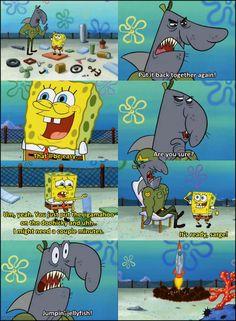 Spongebob the rocket scientists!